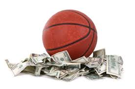 basketball on cash