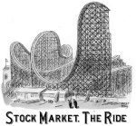 stock market ride cartoon